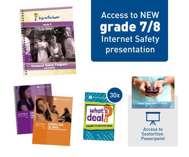 Order Materials: Grade 8 Kit (3rd Edition) – protectchildren ca