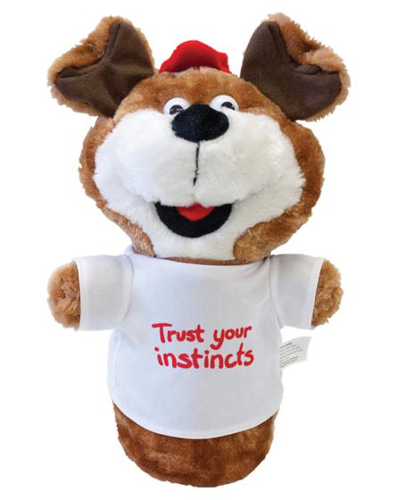Cosmo the Dog Hand Puppet