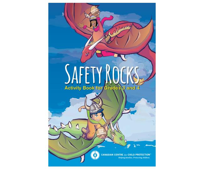 Safety Rocks Activity Book (Grades 3 and 4)