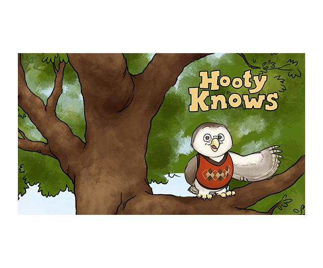 Hooty Knows Video Read-Along Storybook