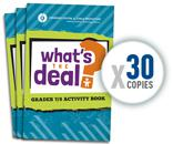 Image: 30 Pack of: What's the Deal (Gr. 7/8)