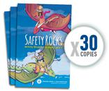 Image: 30 Pack of: Safety Rocks Activity Book (Grades 3 and 4)
