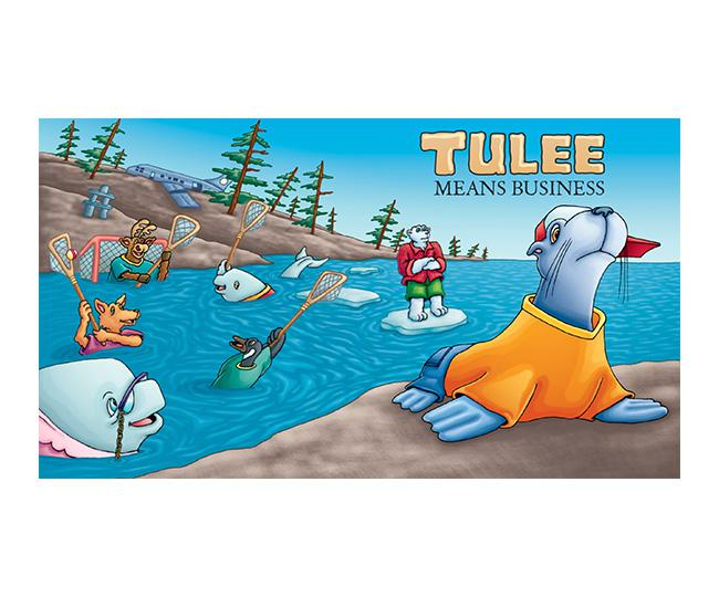 Tulee Means Business Video Read-Along Storybook